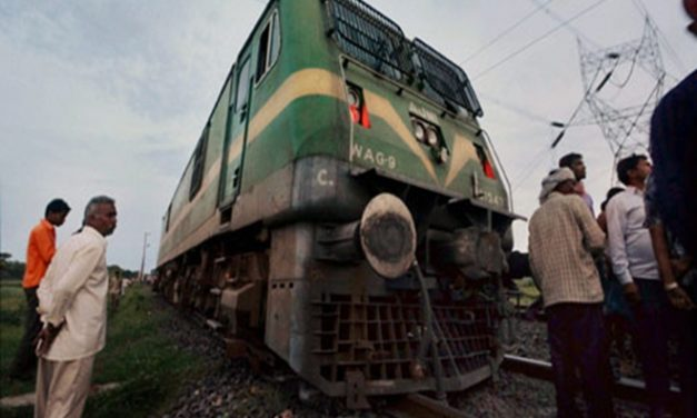 Train Engine cruises 13 km without Loco Pilot, Staff chases the Engine in a Bike