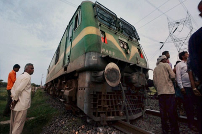 Train Engine cruises 13 km without Loco Pilot