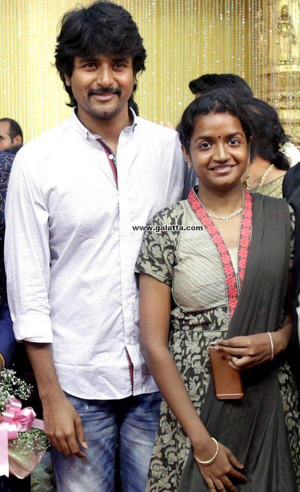 Sivakarthikeyan wife Aarthi Doss
