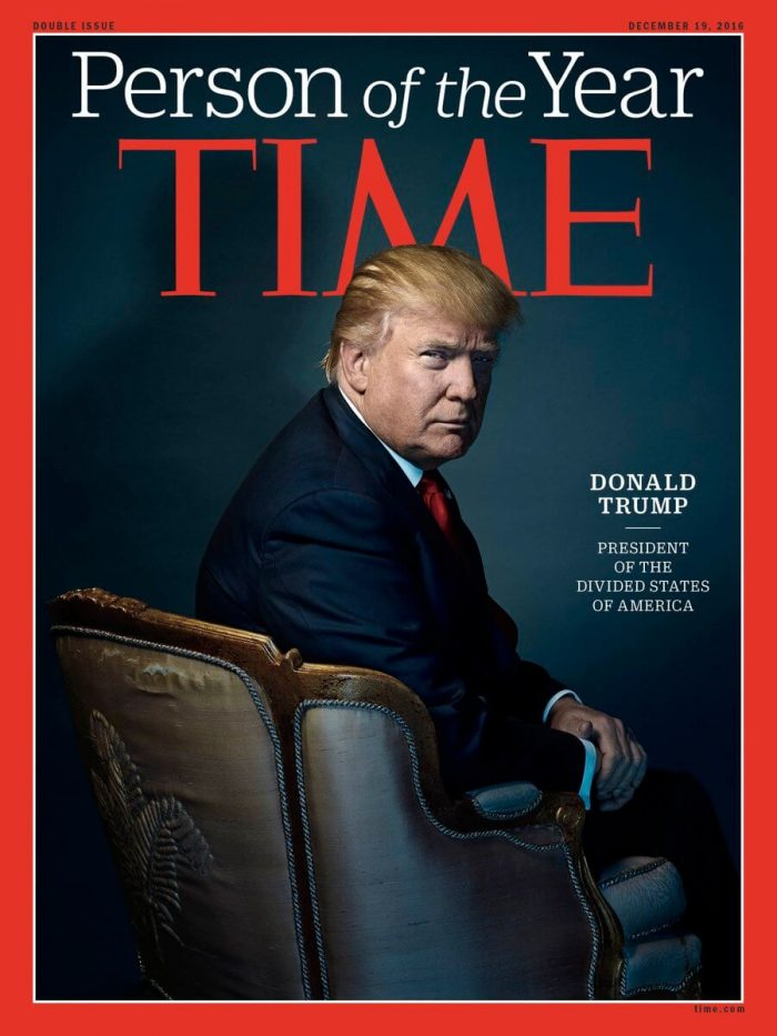 """Trump Tweets He Turned Down Time's """"Person Of The Year"""""""
