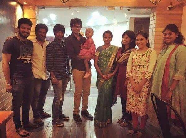 Sivakarthikeyan wife Aarthi and Daughter Aaradhana