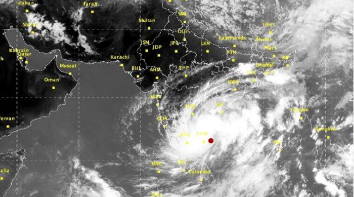 "Ramanan Warns about Cyclone ""Demiri"""