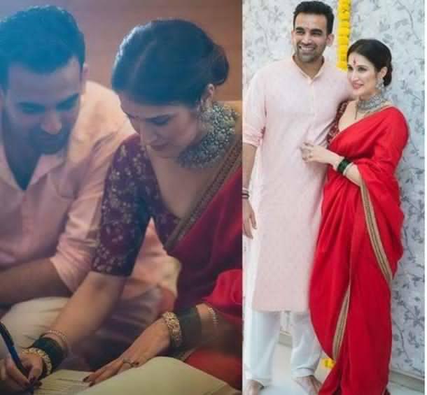 Zaheer Khan weds Sagarika Ghatge