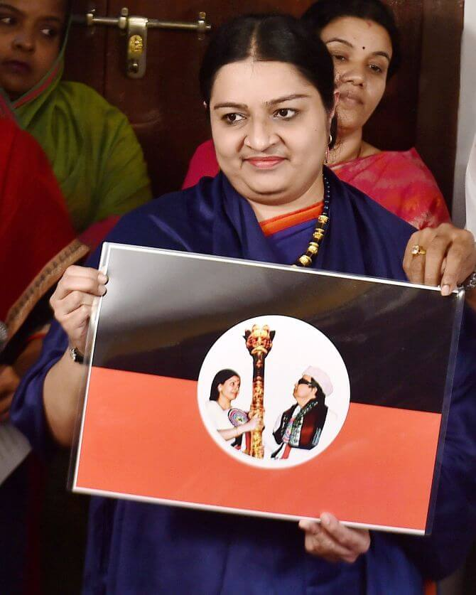 MGR Amma Deepa Peravai - RK Nagar by-election Candidate