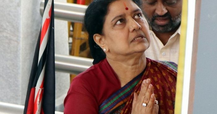 Income Tax officials Search Six Places Related to Sasikala