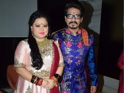 Harsh Limbachiyaa and Bharti Singh Marriage Photos