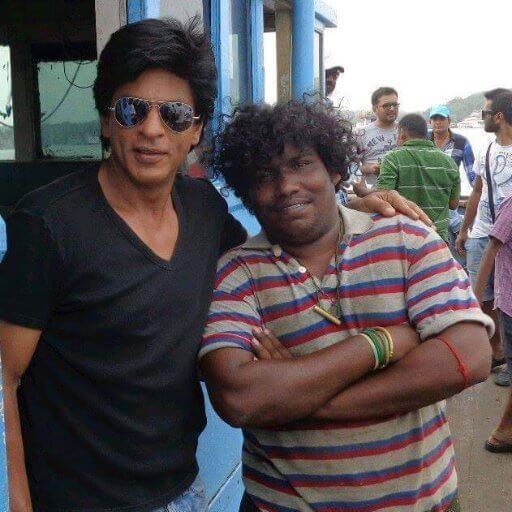 Yogi Babu With Sharukh Khan