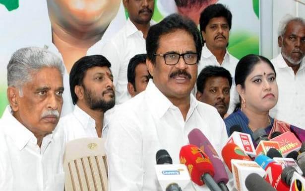 Congress -RK Nagar by-election CandidateS. Thirunavukkarasar