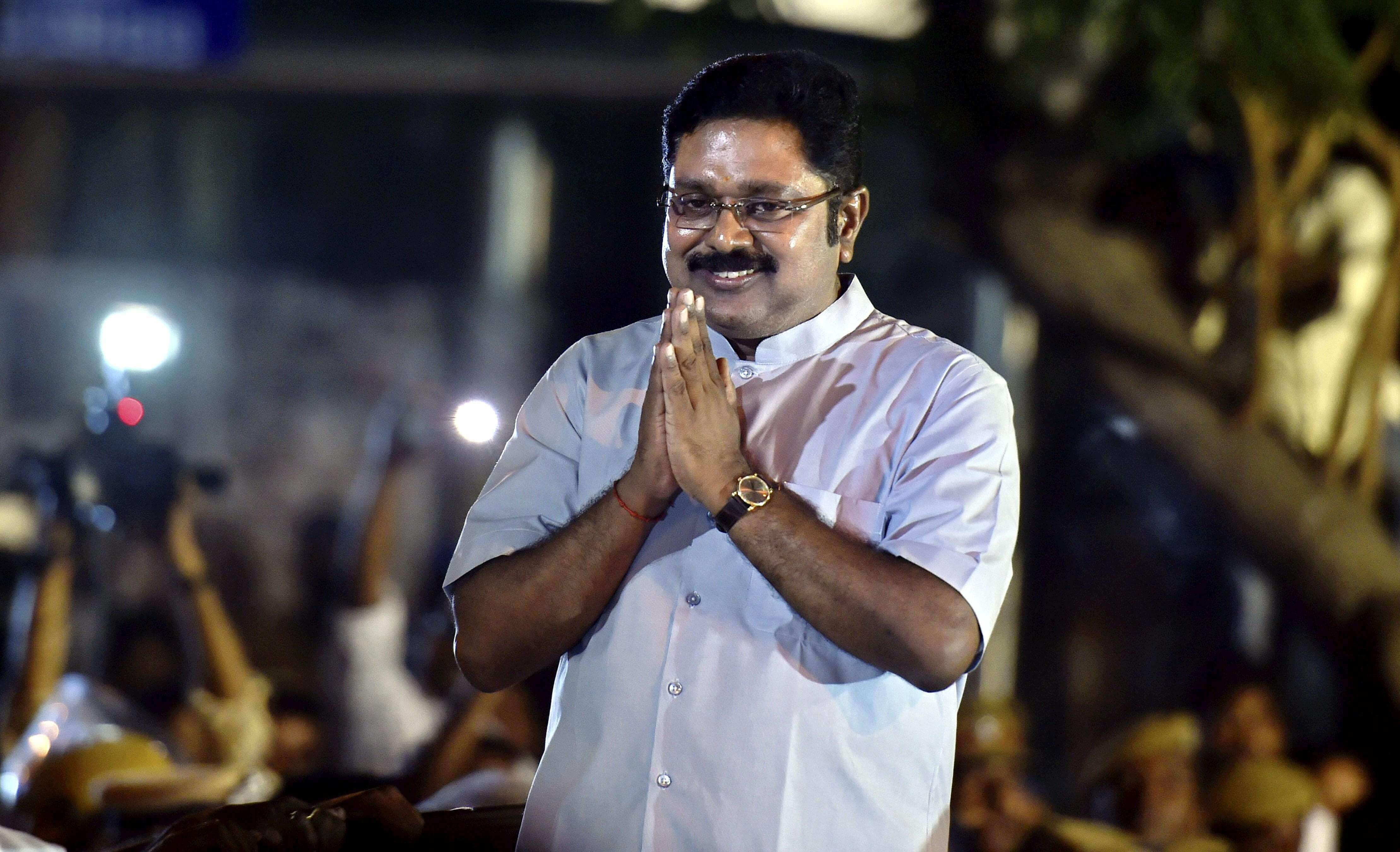 TTV Dhinakaran as MLA
