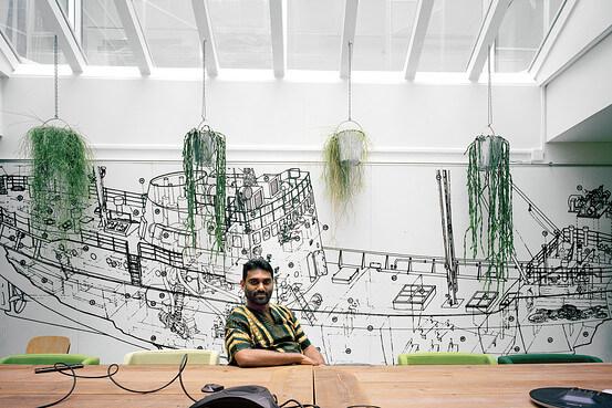 Kumi Naidoo at Greenpeace Organization