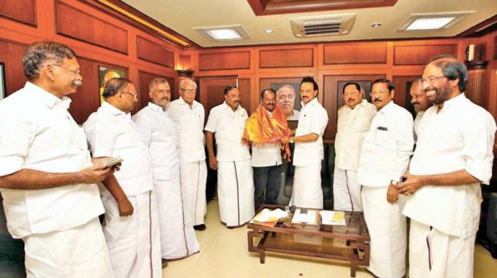 Marudhu Ganesh was renominated again by DMK as soon as the poll schedule was announced