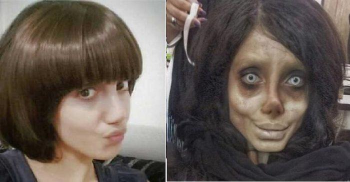 Sahar Tabar goes 50 surgeries to look like Angelina Jolie