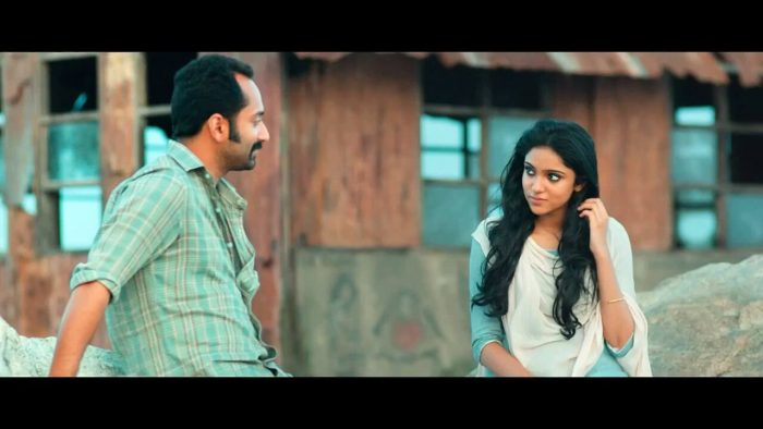 Sana Althaf with Fahadh Faasil
