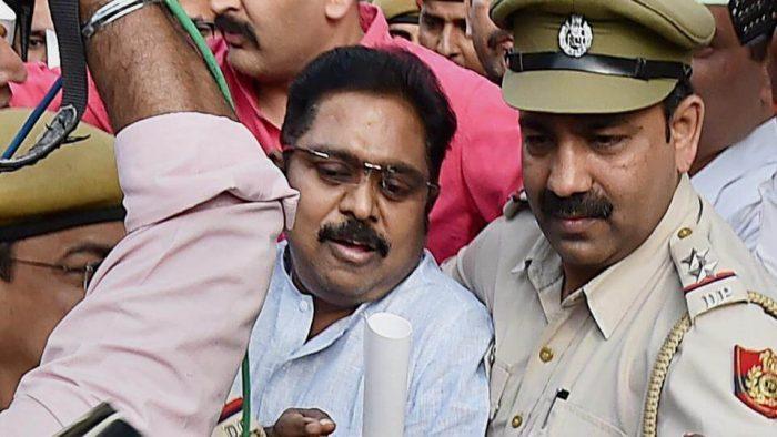T. T. V. Dhinakaran Arrested by Delhi Police