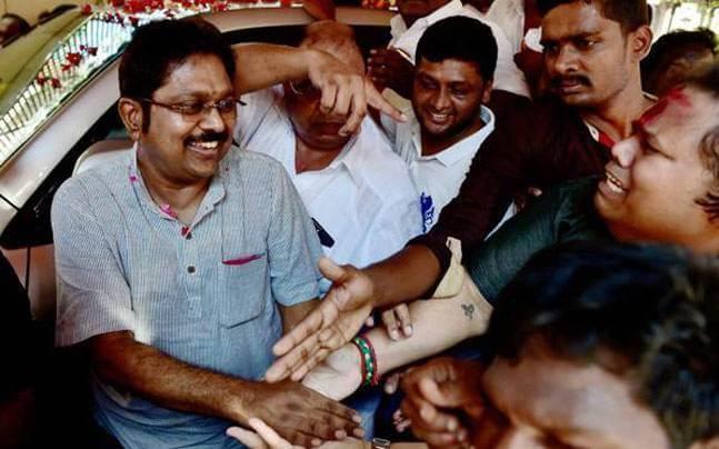 T. T. V. Dhinakaran won the RK Nagar Election