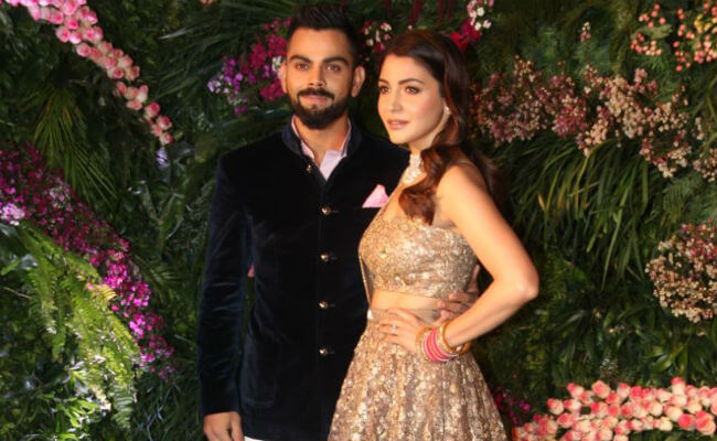 Virushka's Mumbai Reception
