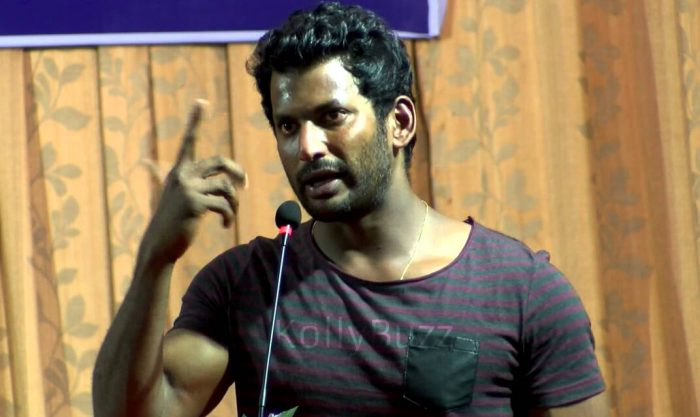 RK Nagar Election bypoll: Election Commision once again rejects Vishal's nomination
