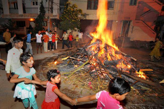 First Day of Pongal - Bhogi festival