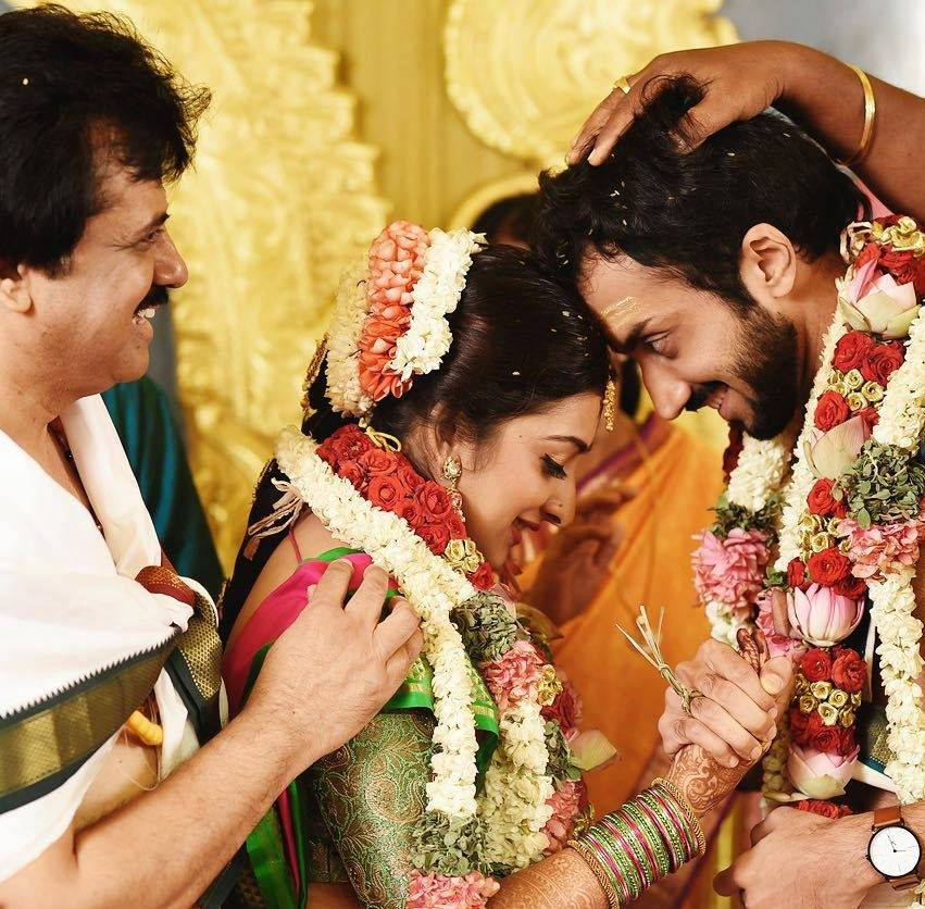 Sharanya Srinivas Marriage Pics | Sharanya Srinivas Wiki