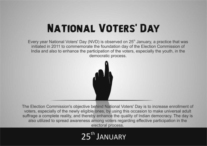 National Voters Day 2018