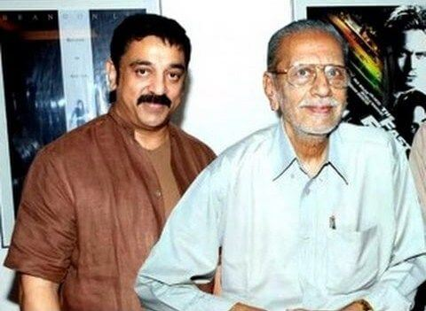 Kamal Haasan with his Brother Charuhasan