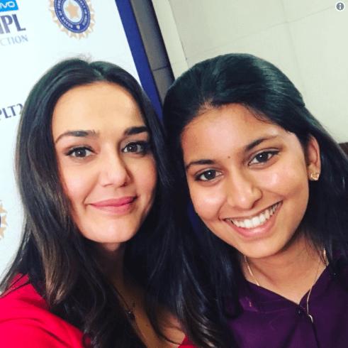 Jhanvi Mehta with Preethi Zinta