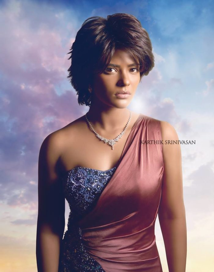 Aishwarya Rajesh as The Bond Girl