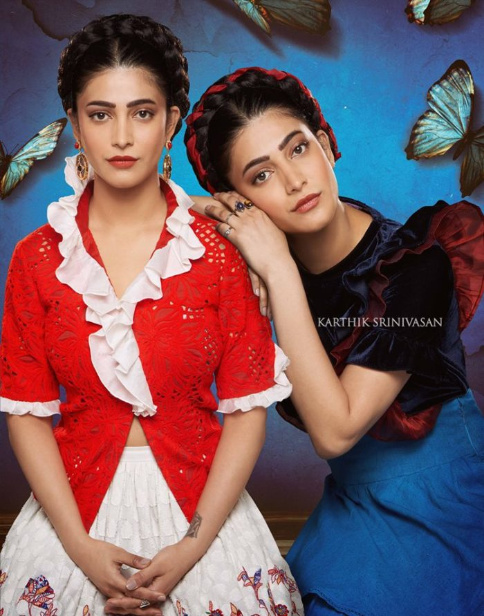 "Shruti Haasan as ""Frida Kahlo"""