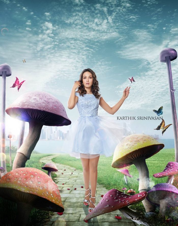 Catherine Tresa Alexander as Alice in Wonderland