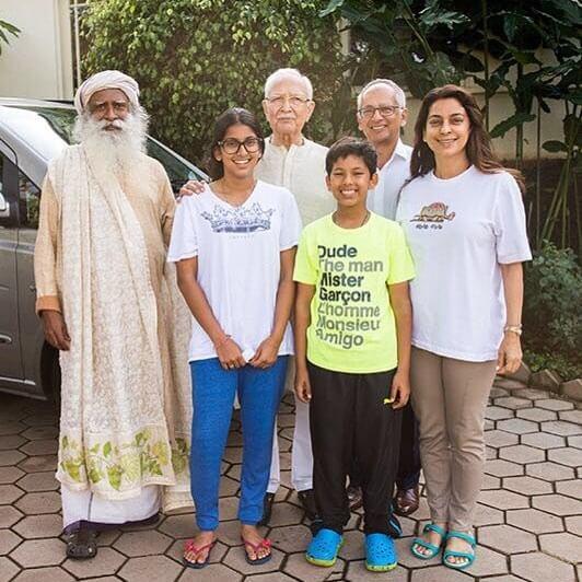 Jhanvi Mehta Family