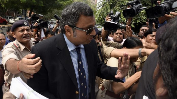 INX Media Money Laundering Case | CBI arrests Karti Chidambaram in Chennai