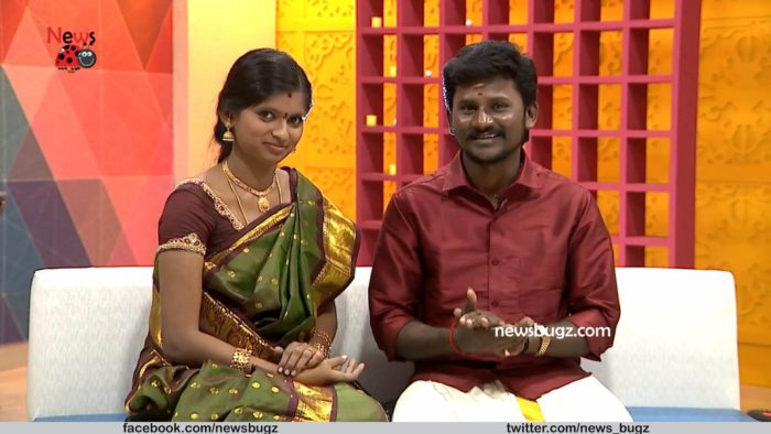 Super Singer Vote Rajalakshmi and Her Husband Senthil