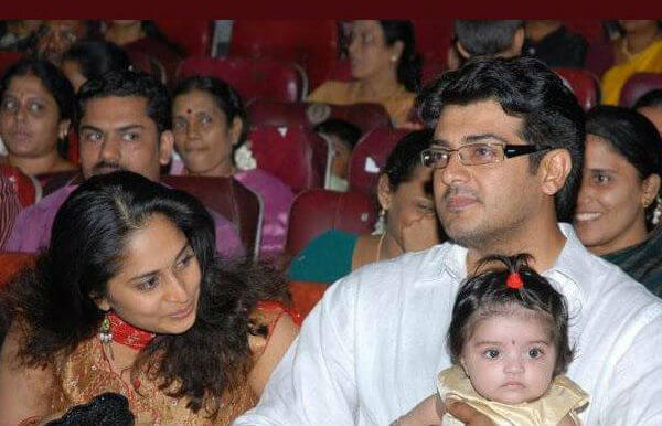 Ajith Kumar Wife Images