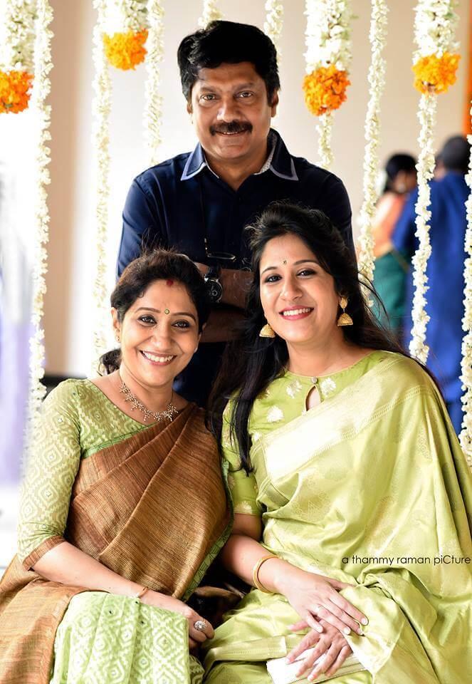Shweta Mohan Family