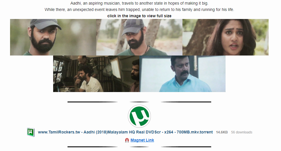 TamilRockers Movies Download Images - News Bugz
