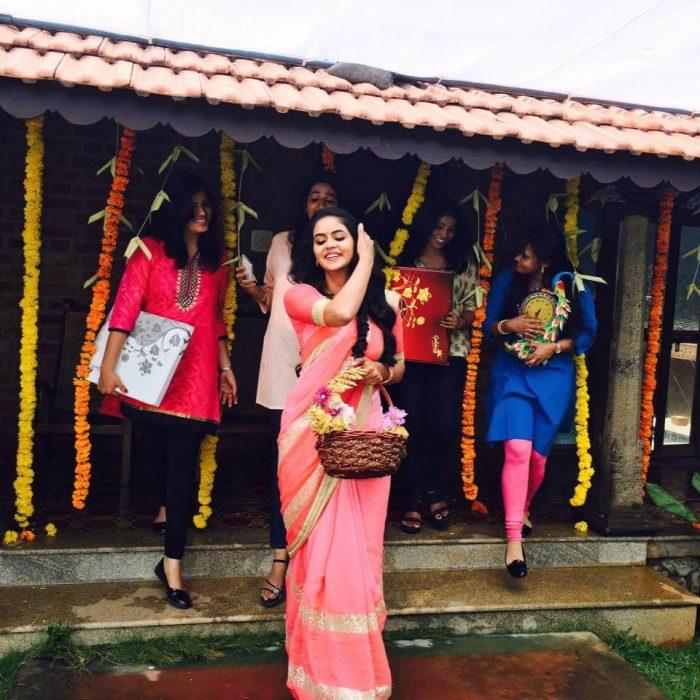 Chaitra Reddy in Avanu Mathe Shravani