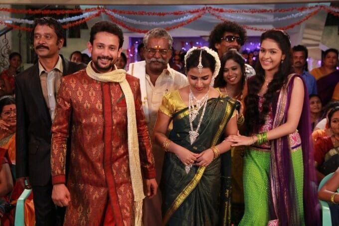 Tamil Serial Actor Deepak Wedding Photos