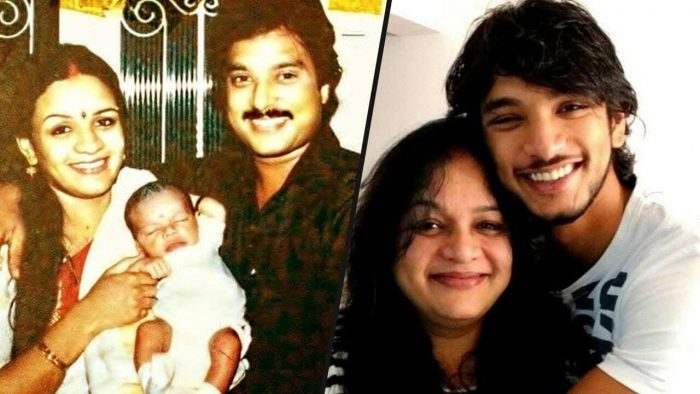 Gautham Karthik Family Photo