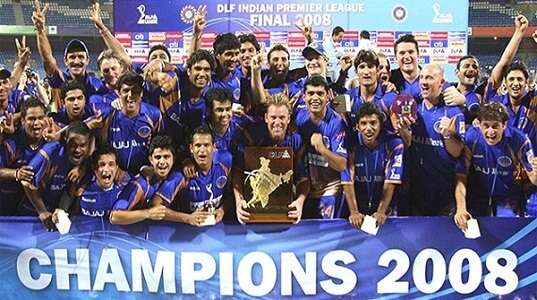 IPL Winners 2008