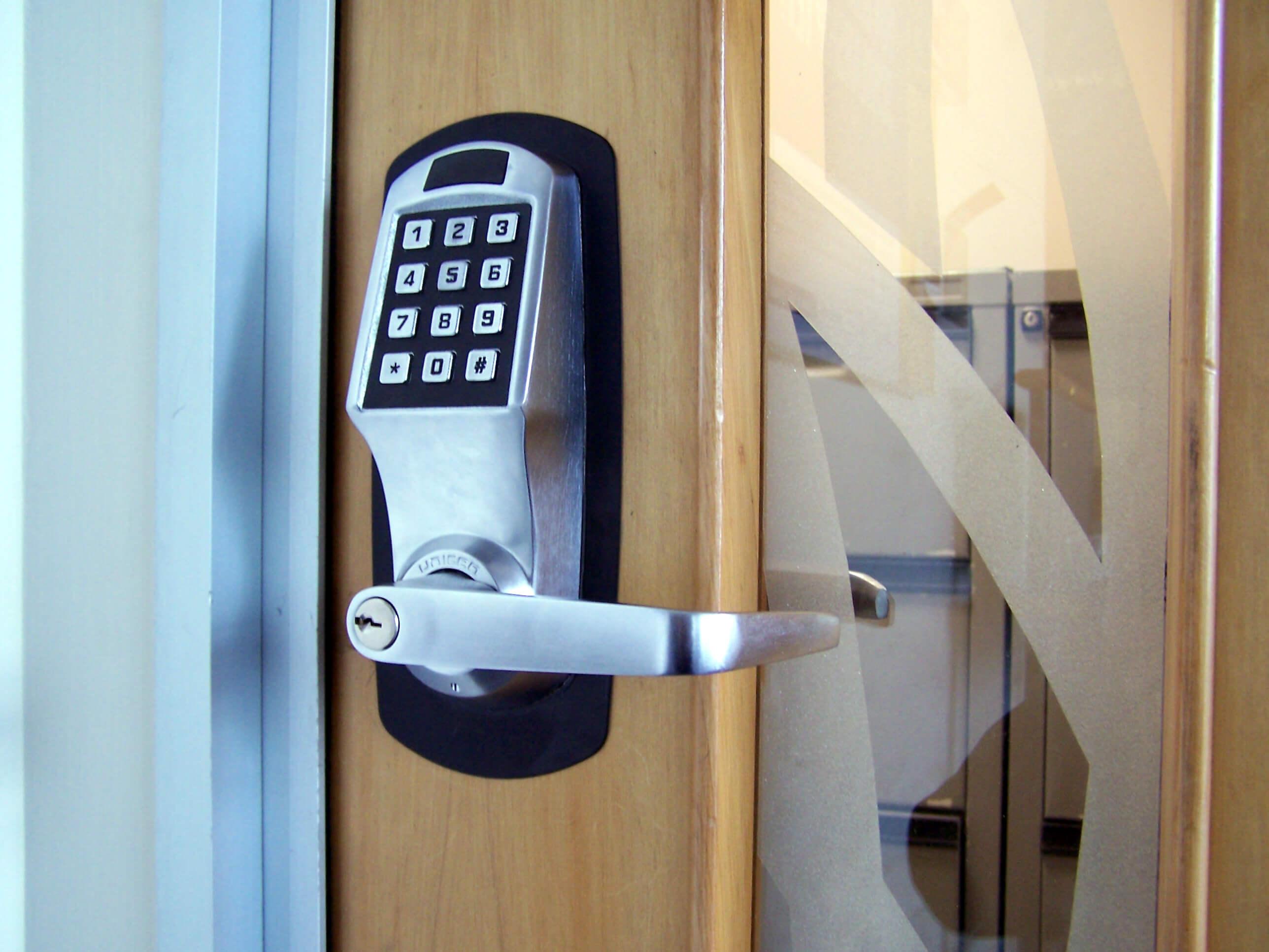 Number Lock Door