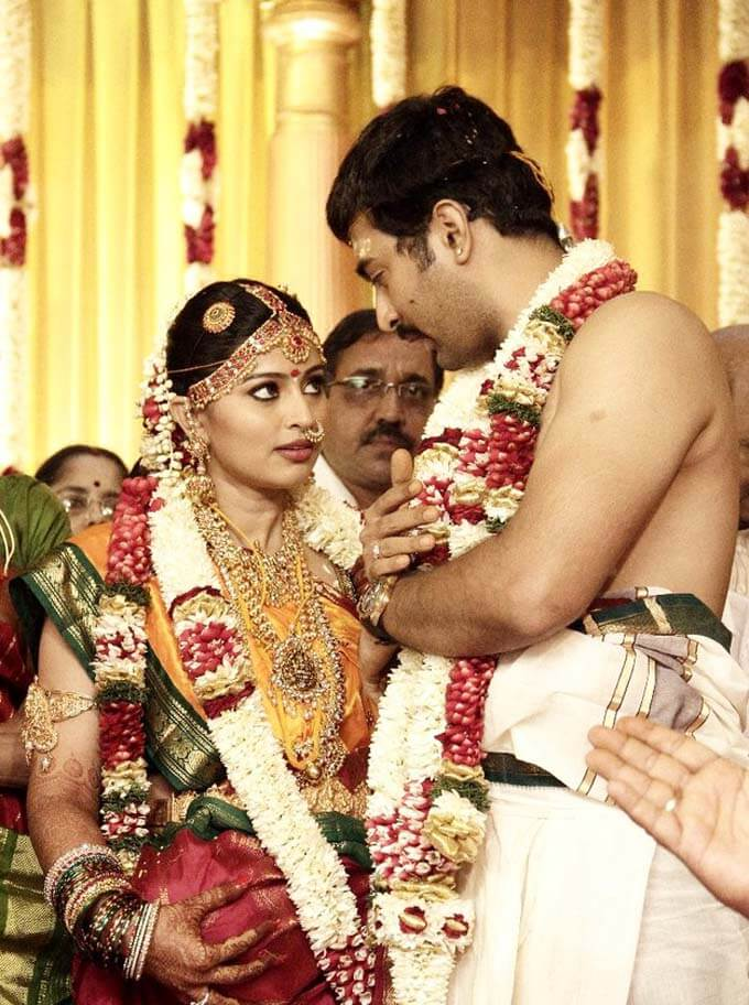 Actor Prasanna and Sneha marriage photos