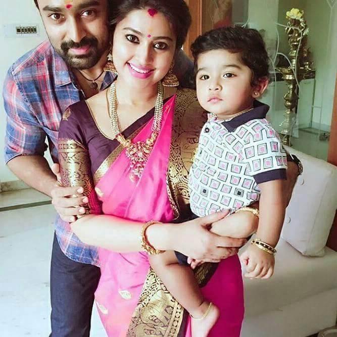 Actor Prasanna Sneha Baby