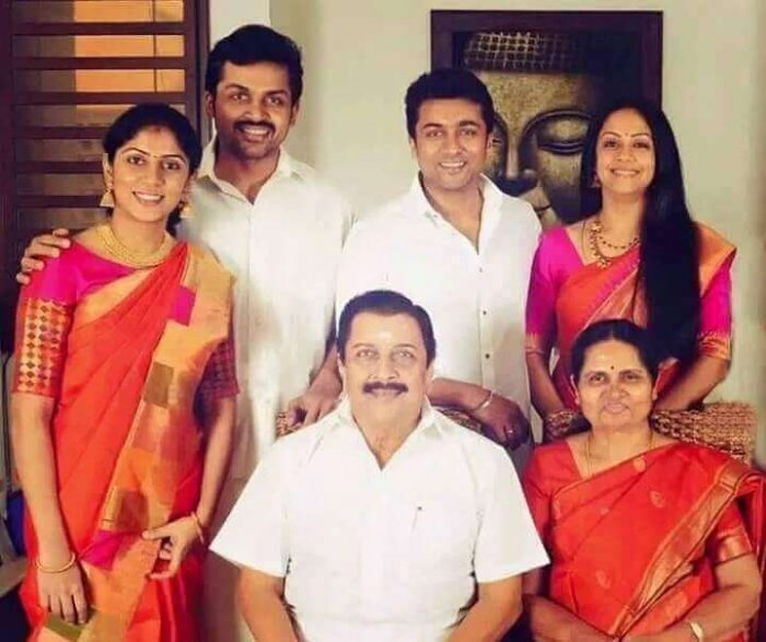 Actor Karthi Sivakumar Family Photos Ranjini Umayaal Unseen