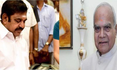 Edappadi Palanisamy To Meet Governor Banwarilal Purohit
