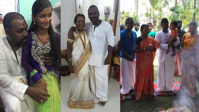 Raghava Lawrence Wife latha
