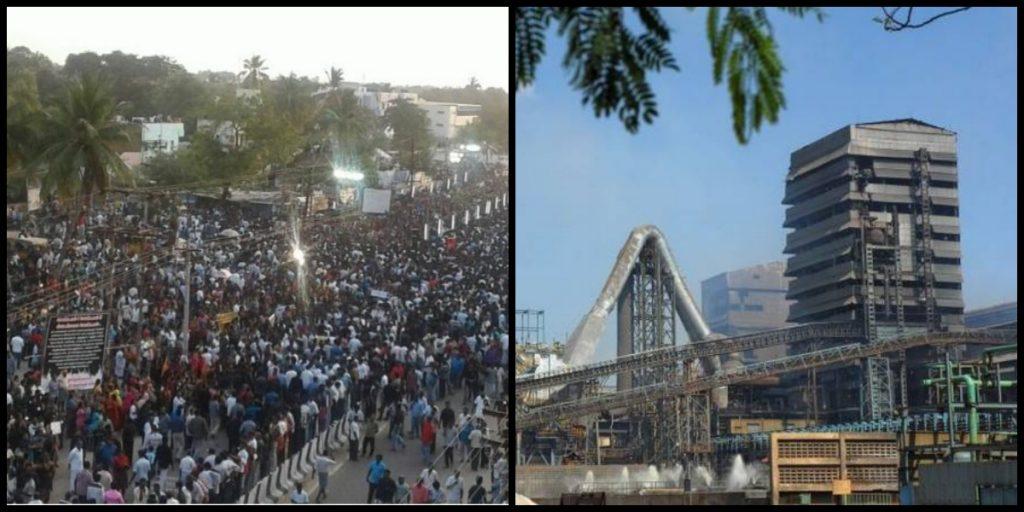 Anti-Sterlite Protests Turn Violent