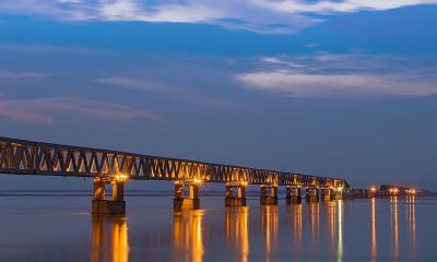India's Longest Road-Rail Bridge