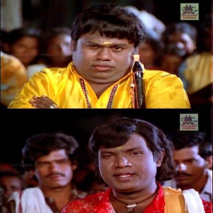 Goundamani & Senthil Meme Templates