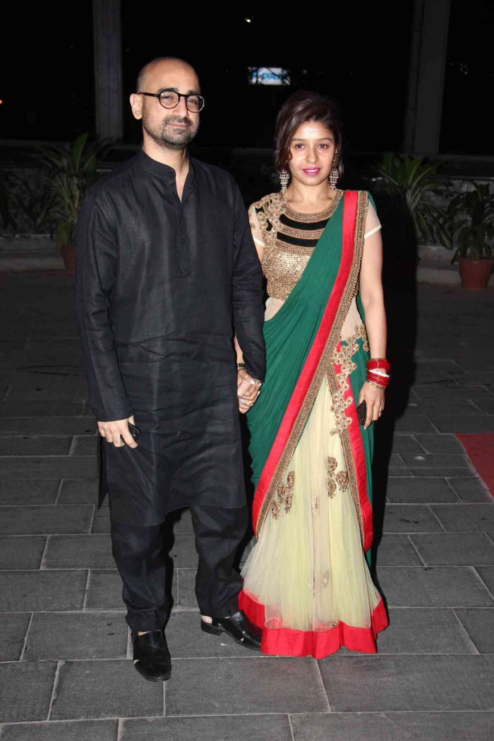 Hitesh Sonik And Sunidhi Chauhan Wedding