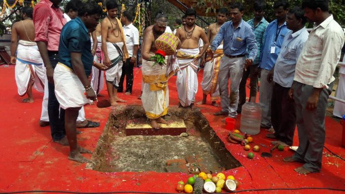 Edappadi Palanisamy Laid Foundation Stone for Jayalalithaa Memorial